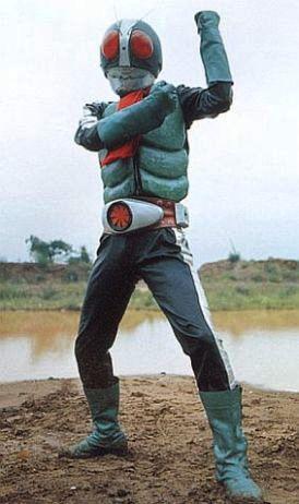 Kamen Raidâ Nigo - Kamen Rider Two - Masked Rider Two